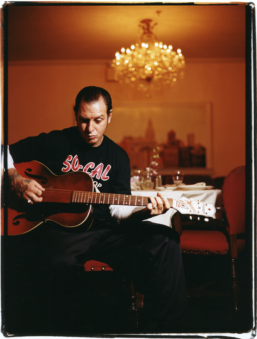 Jason Homa Portrait  Photography, Mike Ness